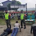 Terjaring Operasi Masker di Purbalingga, Pelanggar Dihukum Push Up