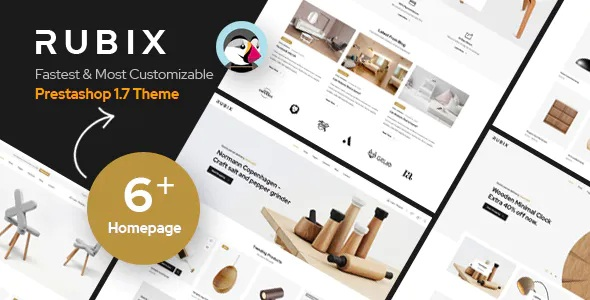 Rubix 6in1 Multipurpose Responsive Prestashop Theme