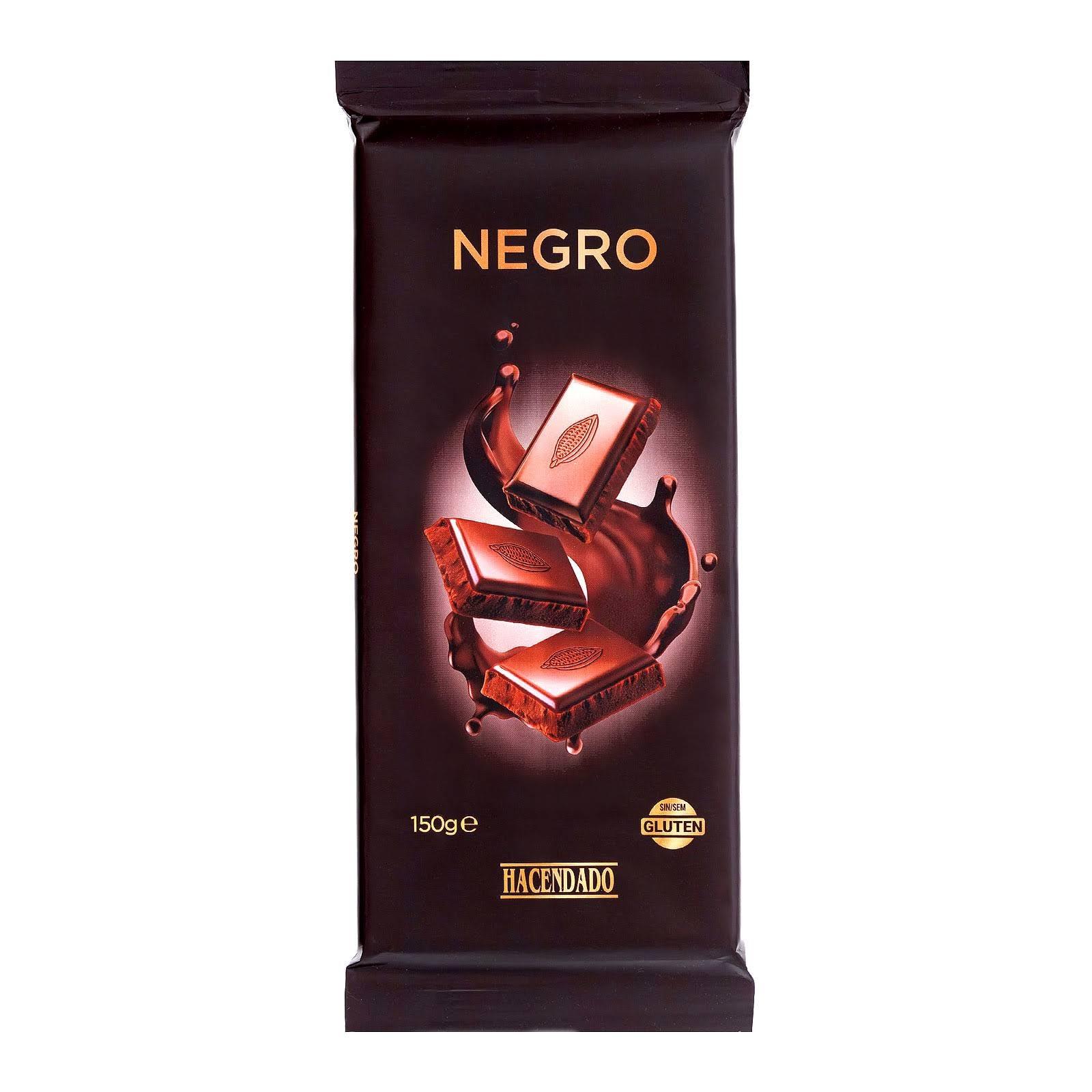 Chocolate negro extrafino 55% de cacao Hacendado