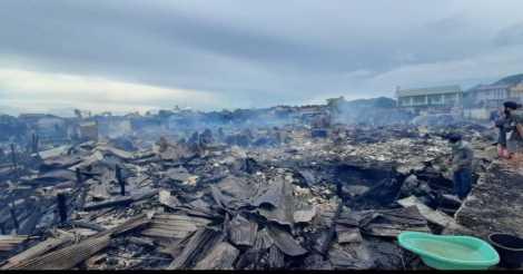 Kebakaran di Kotabaru
