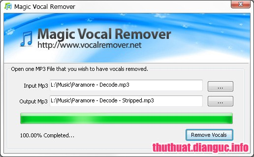 Download Vocal Remover Pro 2.0 Full Cr@ck