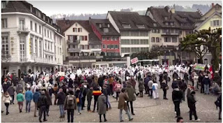 Demonstrations in Europe