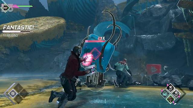 Guardians of the Galaxy amorphous blob enemy Square Enix Presents E3 2021