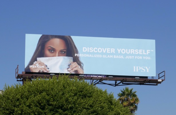 Ipsy Personalized glam bags billboard