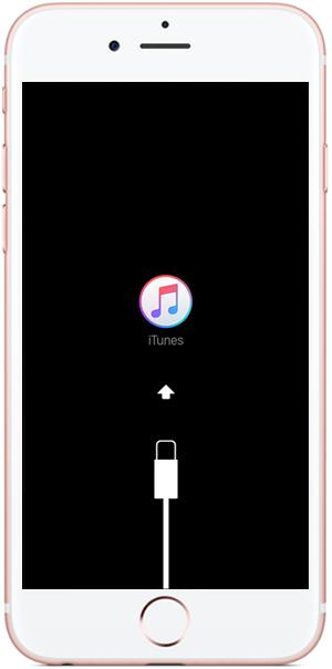 iphone muncul logo usb