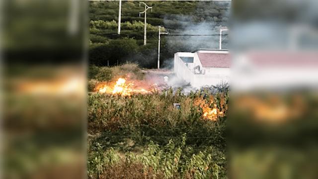 Pastor é detido pela Polícia Militar após atear fogo em mato na cidade de Patos