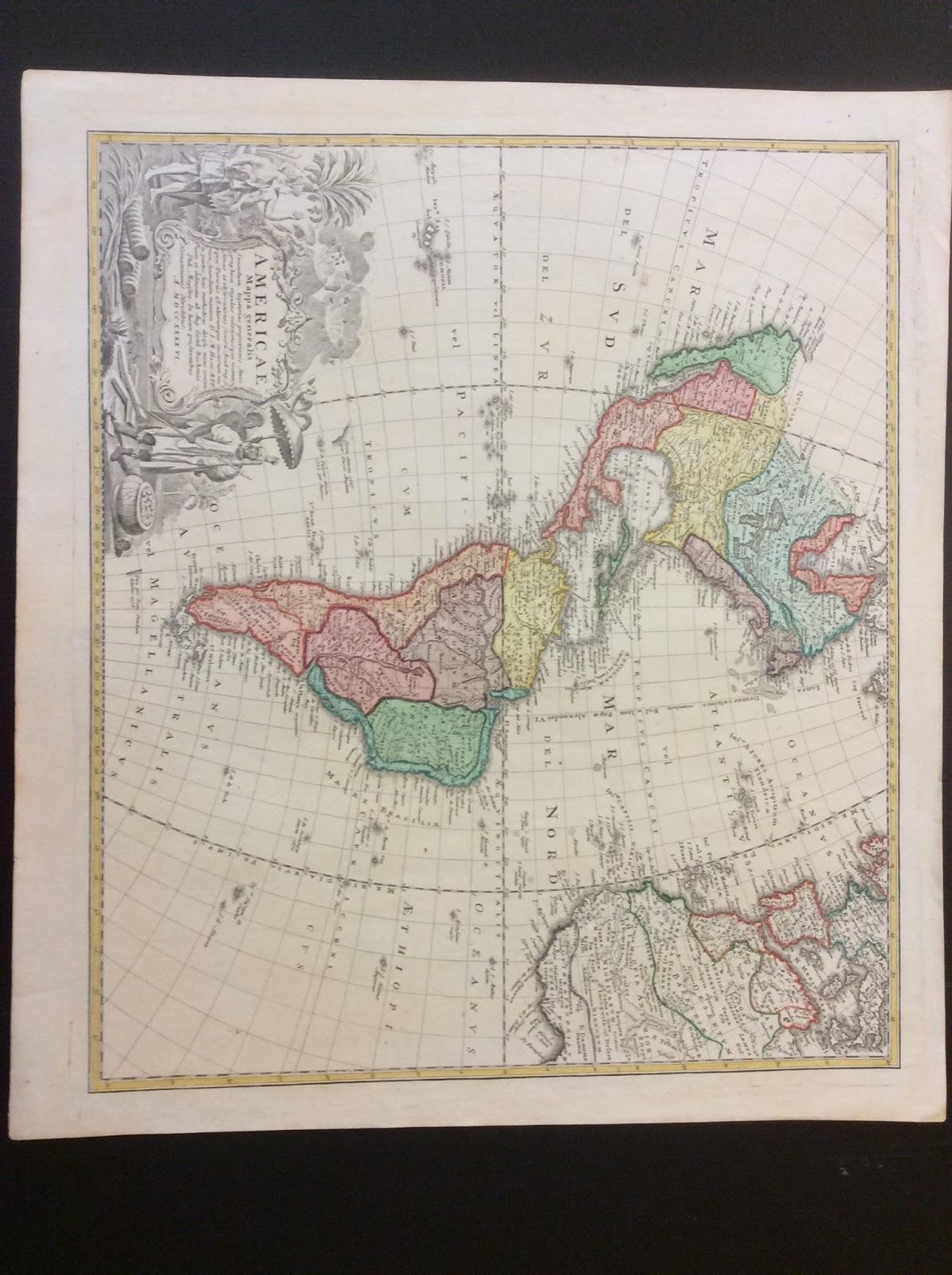 western hemisphere by homann heirs