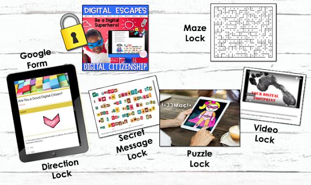 Digital Escape Room Digital Citizen