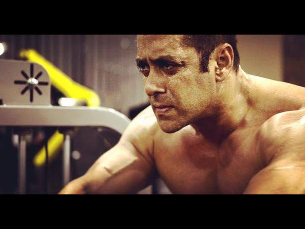 Salman is sweating in gym in lockdown