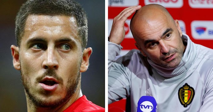 Belgium manager has revealed that Hazard isn't at his full fitness and won't be risked.
