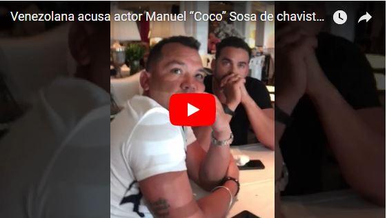 Detenido el actor Manuel Coco Sosa por corrupción