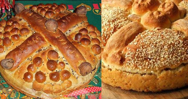 Χριστόψωμο:  Το ευλογημένο ψωμί των Χριστουγέννων (συνταγή)