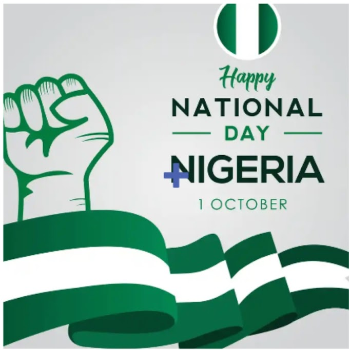 Friday, October 1st Nigerian Independence Day 2021