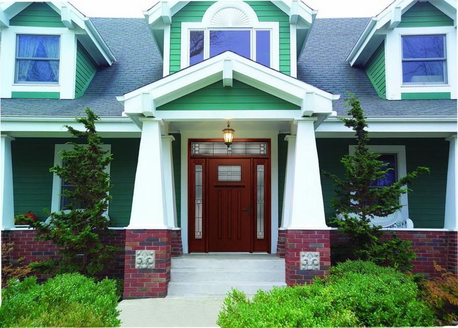 Pintar la fachada de casa todo sobre fachadas - Green exterior house color ideas ...