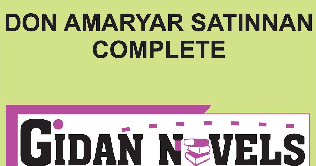 DON AMARYAR SATINNAN DANDALIN HAUSA NOVELS - Gidan Novels