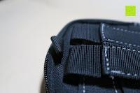 Tasche oben: Taktische Hüfttaschen , Sahara Sailor EDC Molle Tasche Nylon Gürteltasche für Wandern, Outdoor-Camping und Radfahren mit Aluminiumkarabiner