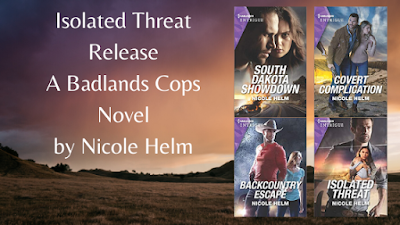 Isolated Threat ~ A Badlands Cops Novel by Nicole Helm