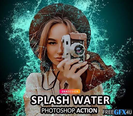 Splash Water Photoshop Action