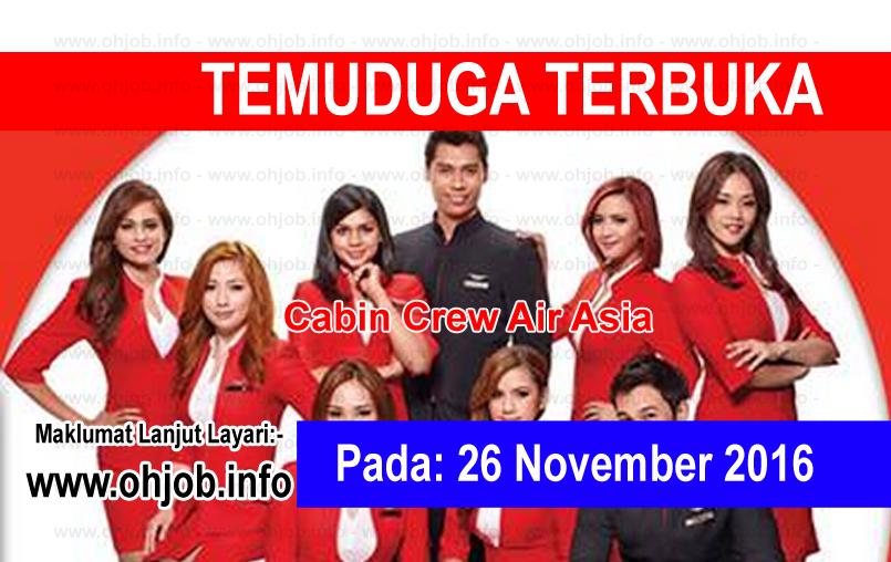 Jawatan Kerja Kosong AirAsia Berhad logo www.ohjob.info november 2016