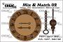Set stansen om een klok met slinger of ketting te maken. Set of dies to make a clock with pendulum or chain.