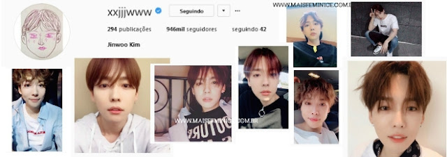 Instagram do Jinwoo