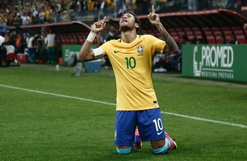 Neymar sẽ trở thành niềm hy vọng lớn nhất của đội tuyển Brazil