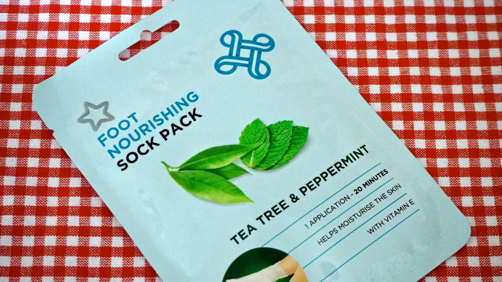 Superdrug Tea Tree & Peppermint Nourishing Foot Pack
