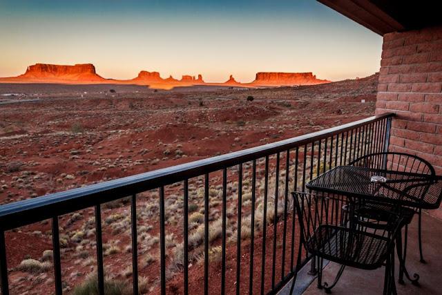 Alojamiento en Monument Valley (Goulding's Lodge)