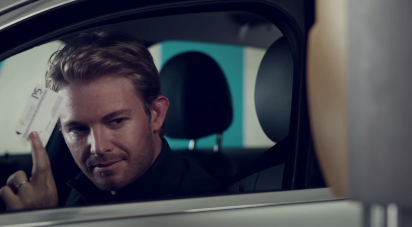 "Nico Rosberg and Lewis Hamilton in Latest Mercedes-Benz Ad ""Success has Two Sides"""