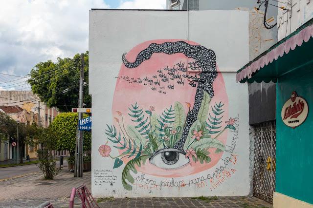 Grafite na Rua Mateus Leme