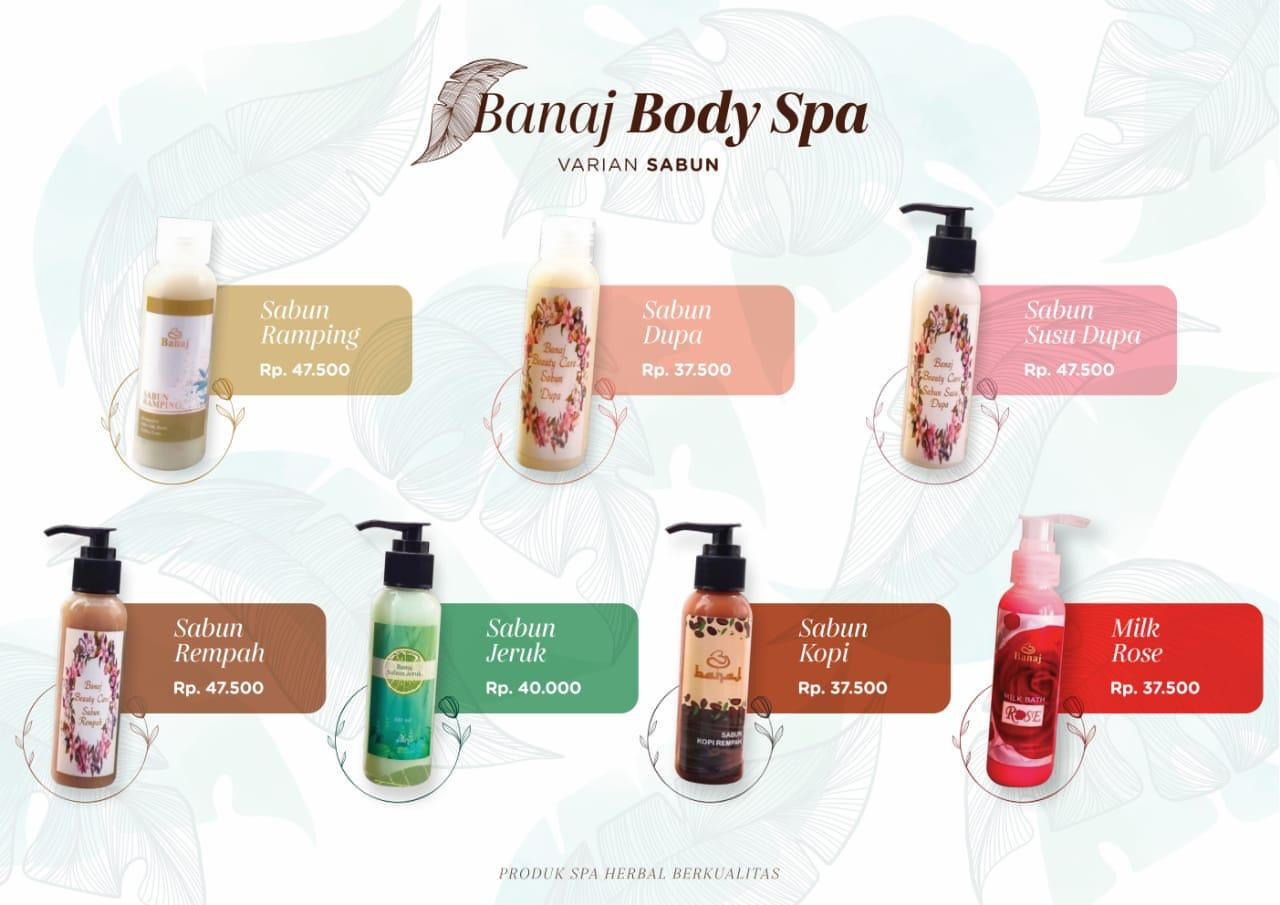 Banaj Body Spa Varian Lotion