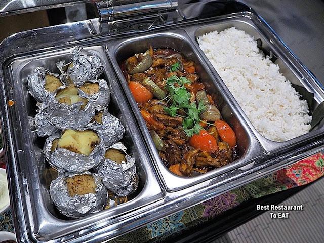 Kontiki Buffet Menu - Continental Dishes