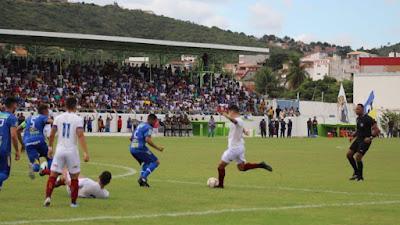 Futebol Baiano : De virada, Bahia vence o Jacobina por 3 a 1