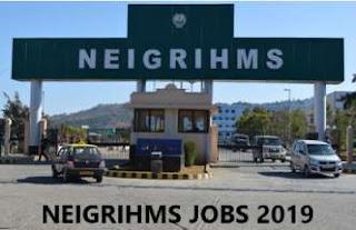 NEIGRIHMS, Shillong Recruitment 2019 for 264 Nursing Officer, Warden & Other Posts