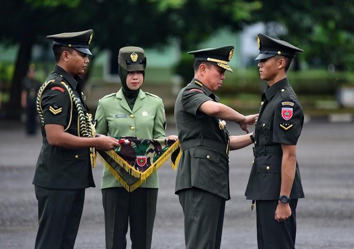Pangdam Resmi Tutup Dikmaba TNI AD Gemblengan Rindam XIV/Hasanuddin