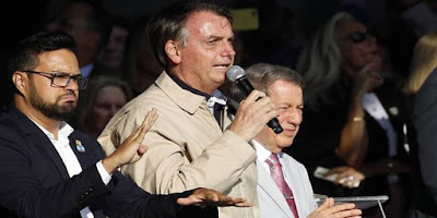 imagem do presidente do Brasil Jair Messias Bolsonaro
