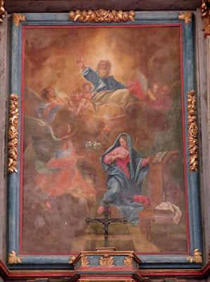 annonciation maître autel eglise de corny 27