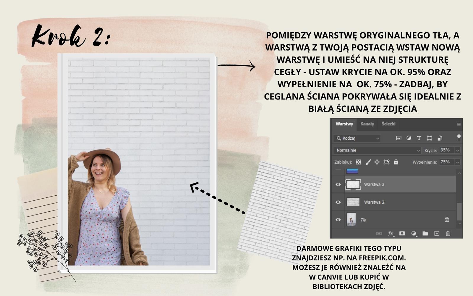 3 instagram jak robić ciekawe ładne nietypowe zdjęcia ig photo ideas photoshop tutorial color rainbow wall