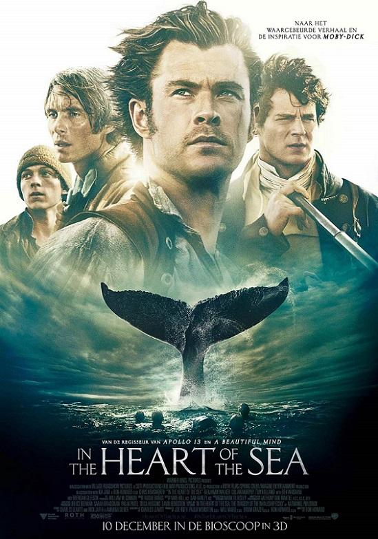 فیلم دوبله : در دل دریا 2015  In the Heart of the Sea