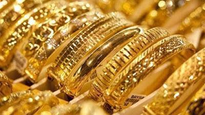 إرتفاع أسعار الذهب محليا وعالميا بأسواق الصاغة اليوم الخميس  ١ أكتوبر