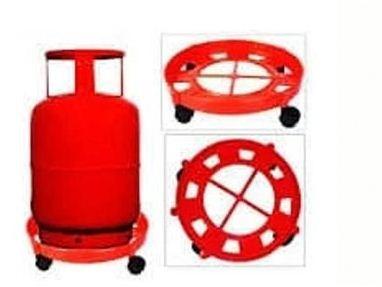 Gas Cylinder Trolley With Wheels