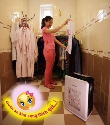 Máy hút ẩm sấy quần áo như thế nào? ~ MẸO TIÊU DÙNG