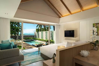 Source: Minor Hotels. Avani+ Samui Resort beachfront villa.