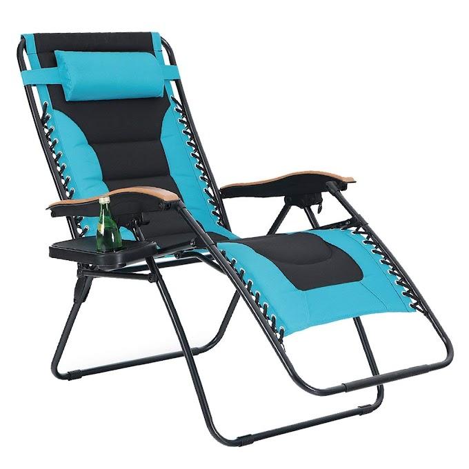 AMAZON - 30% off Oversize XL Padded Zero Gravity Lounge Chair