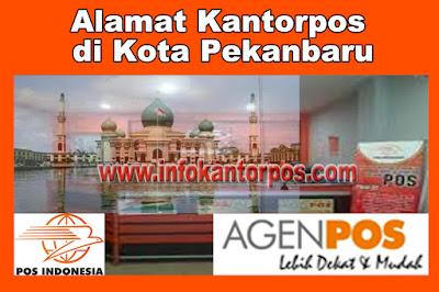 Alamat Kantorpos di Kota Pekanbaru
