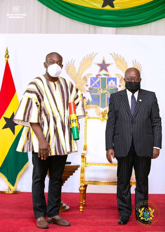 Bring value to governance – Akufo-Addo to new ministers