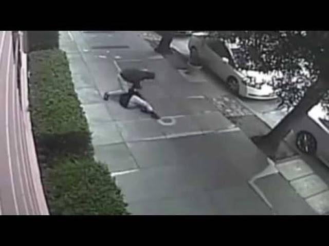 فيديو: شخص يعتدي بالضرب المبرح على امرأة  يكسر اضلاعها ويهشم انفها يستحق الإعدام برأيي شاهدوا ماذا فعل بها !