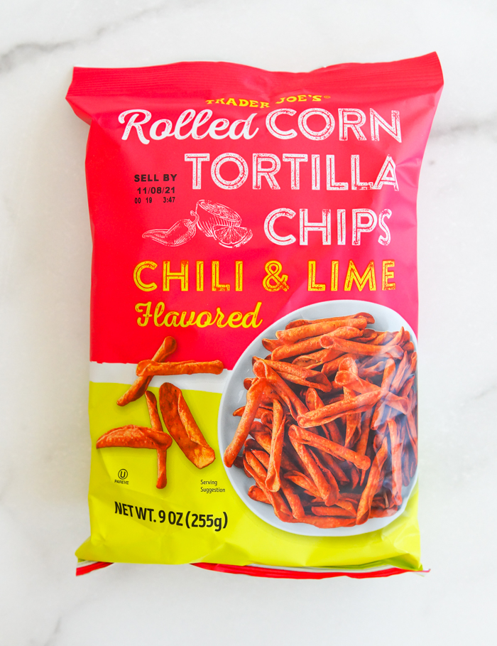 Trader Joe's Rolled Corn Chili and Lime Tortilla Chips Review