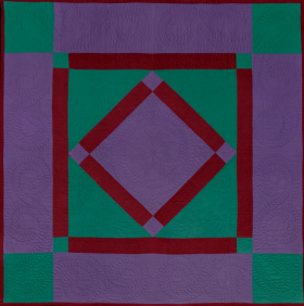 Amish quilt from Museum of Fine Arts, Boston