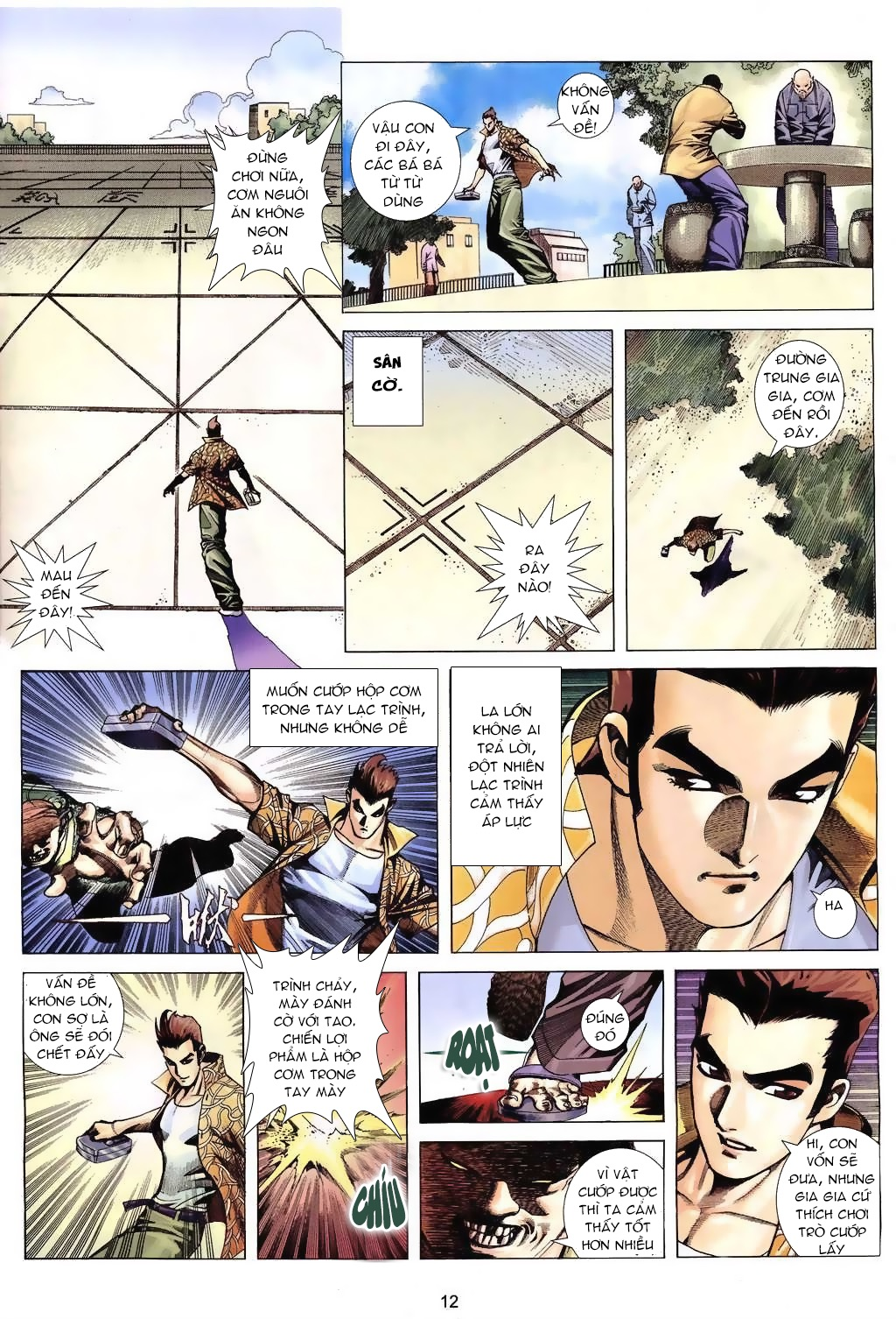 Xích Trụ Phạn Đường chap 6 - Trang 12